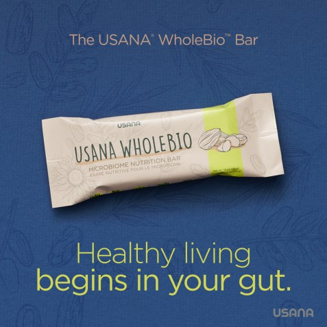 USANA WholeBio Bar_ Science Focused Social Shareable