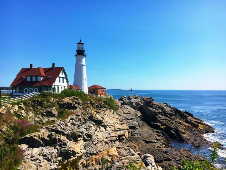 Portland Head Lighthouse - East Coast Mermaid