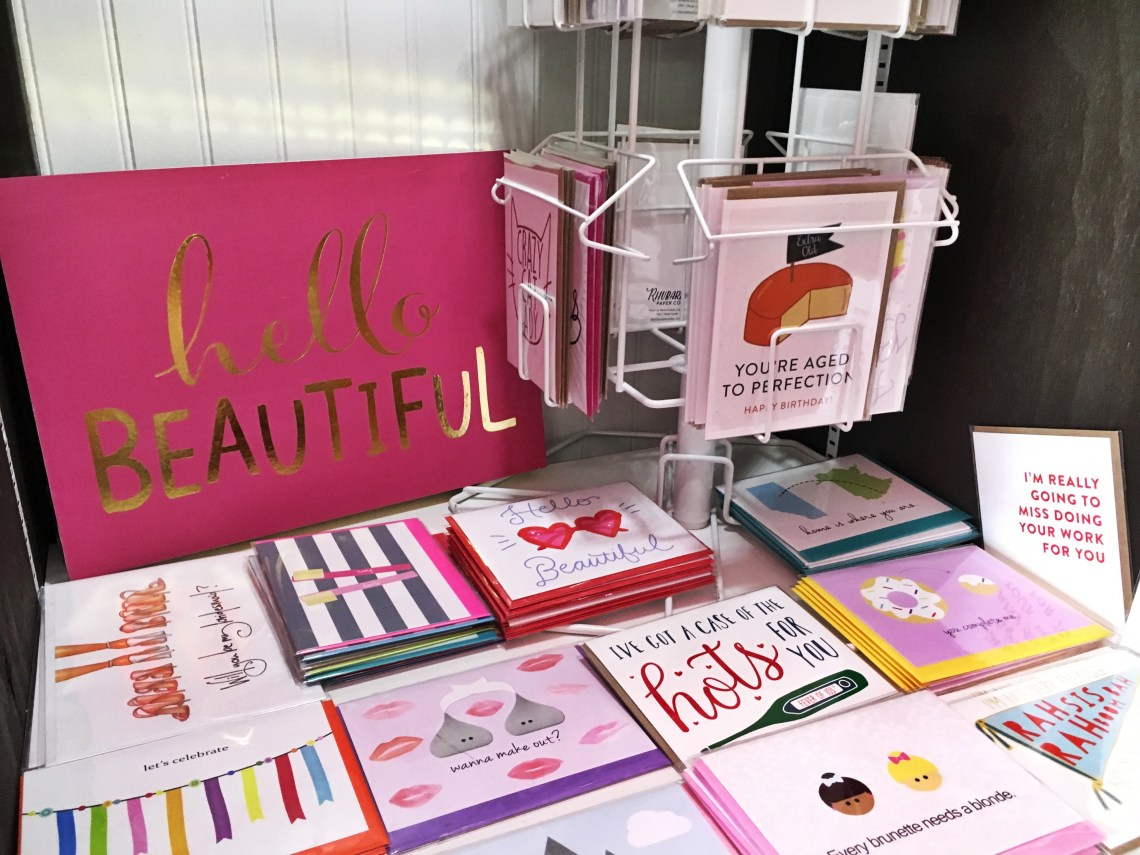 Cards on In Pursuit Fashion Boutique