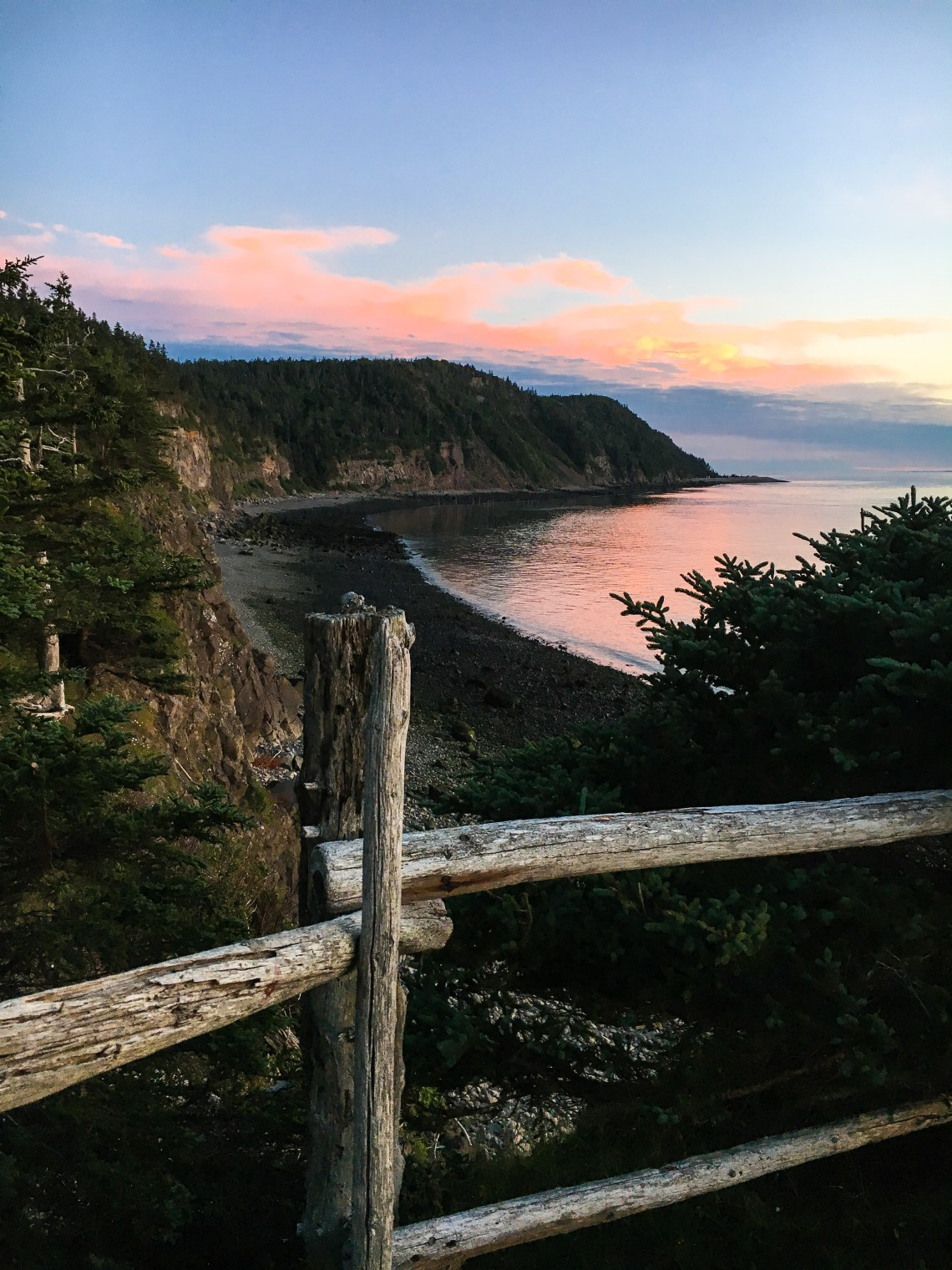 Sunset at Whistle Point 2