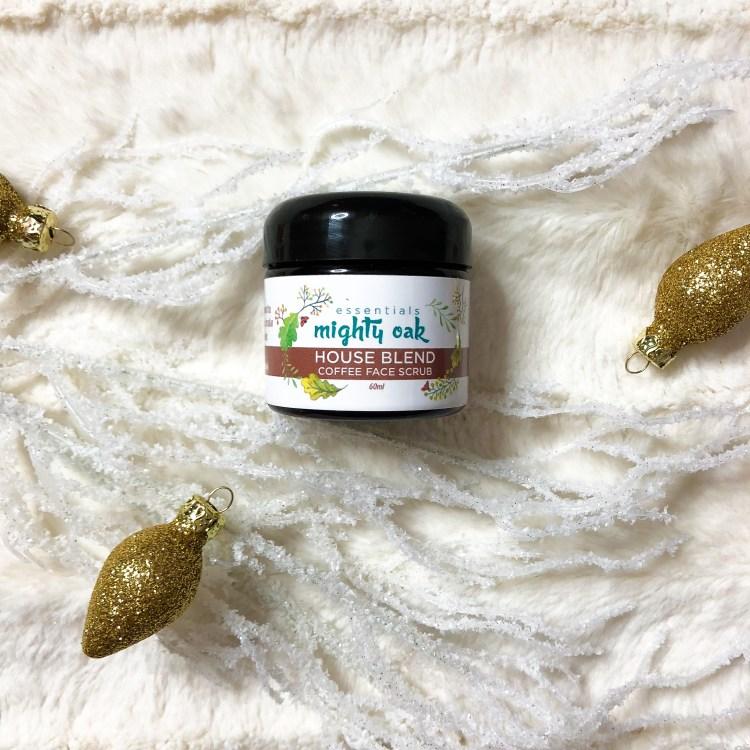Holiday Gift Guide - Mighty Oak Essentials Coffee Scrub