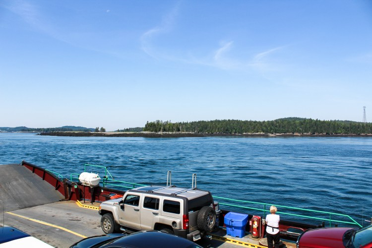 Deer Island Ferry View 2