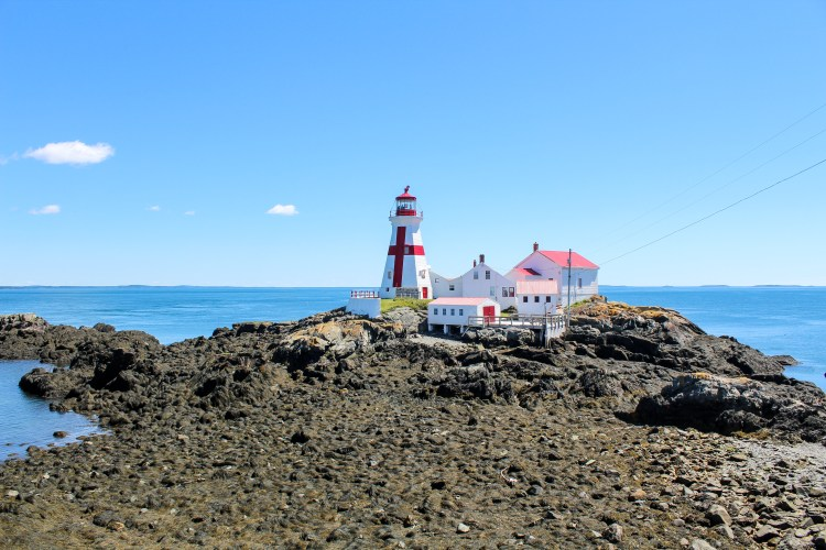 East Quoddy Lighthouse Low Tide 2