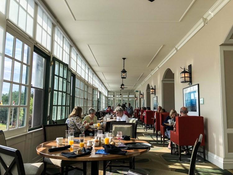 The Algonquin Hotel and Resort Verandah_