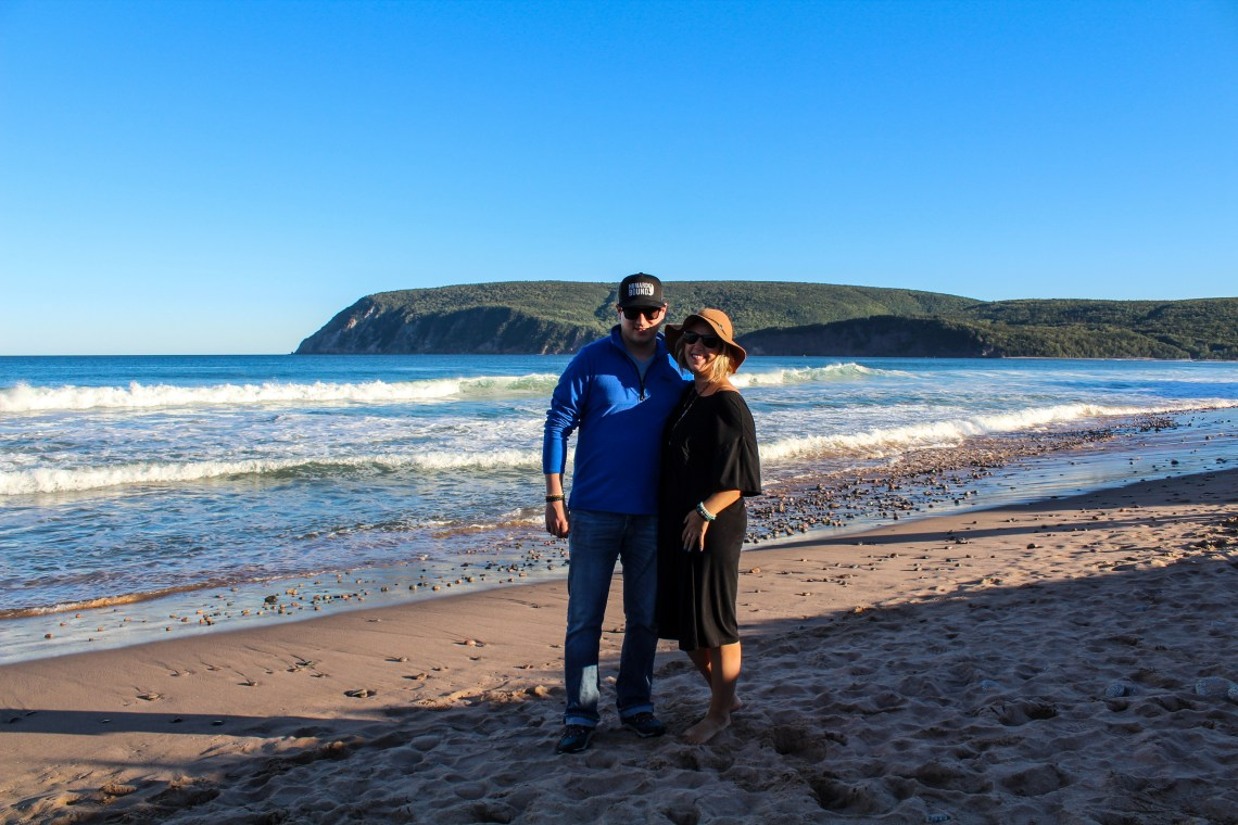 Cabot Trail - Boyfriend Ingonish Beach