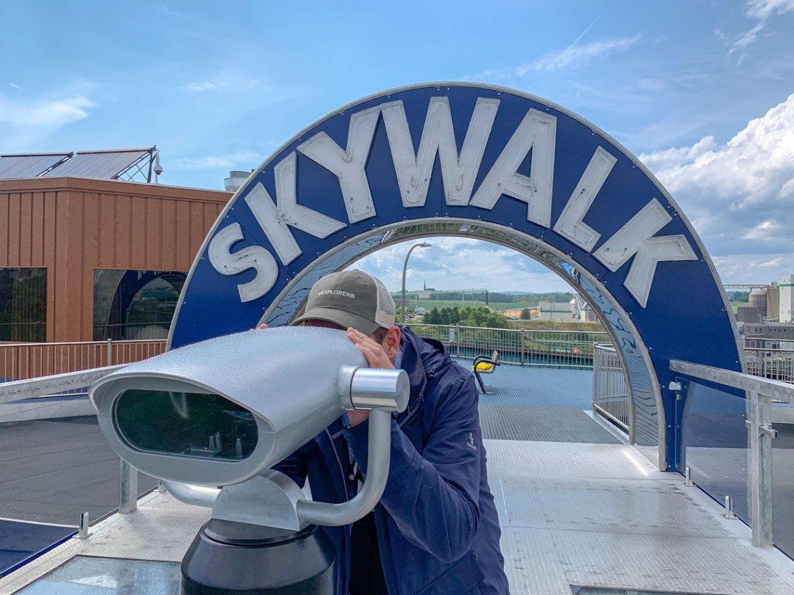 Saint John Reversing Falls Skywalk - East Coast Memraid 1