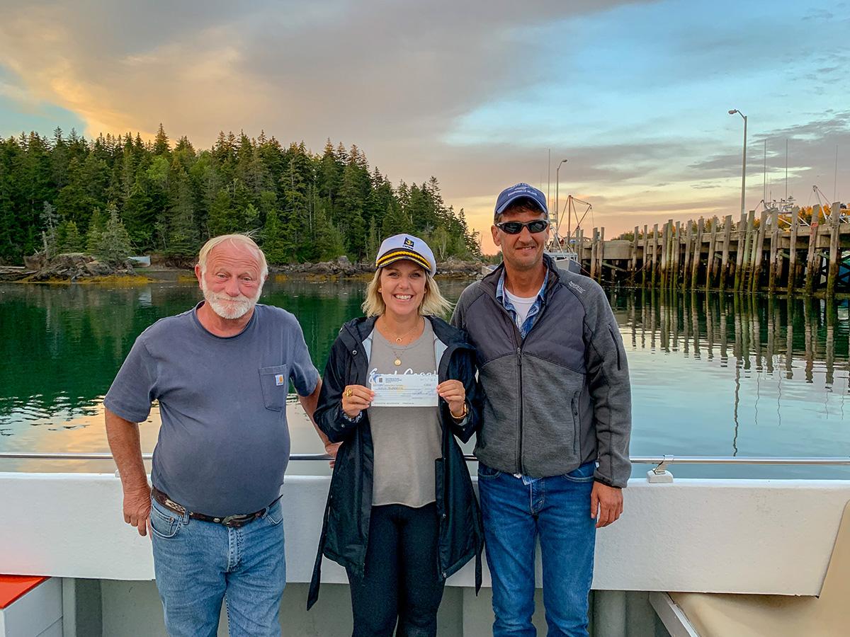 Campobello Whale Rescue Donation, Campobello Island New Brunswick
