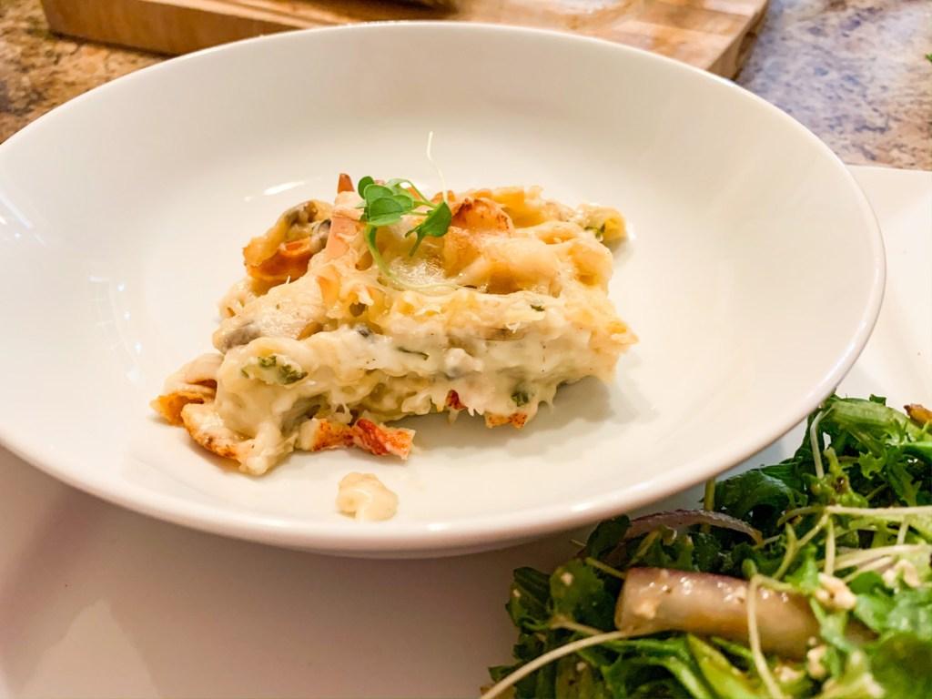 New Brunswick Seafood Lasagna Recipe