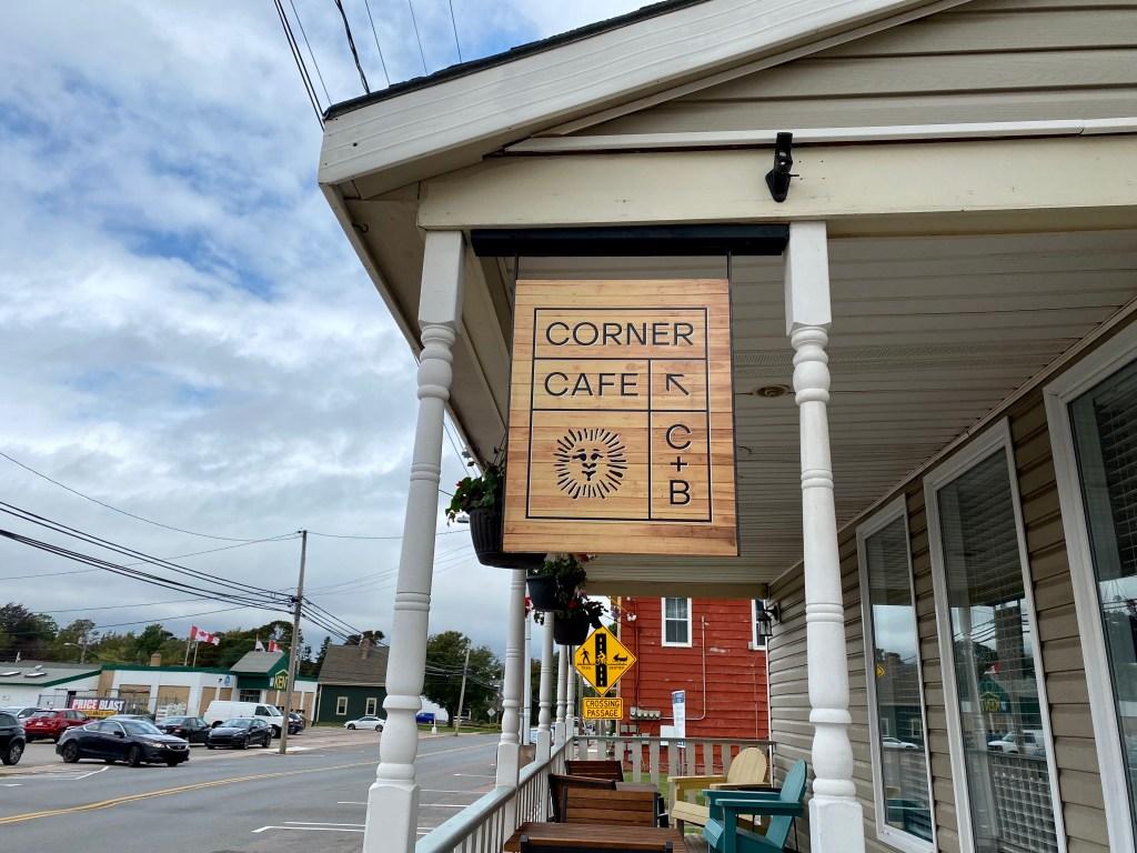 The C&B Corner Cafe in Kensington PEI
