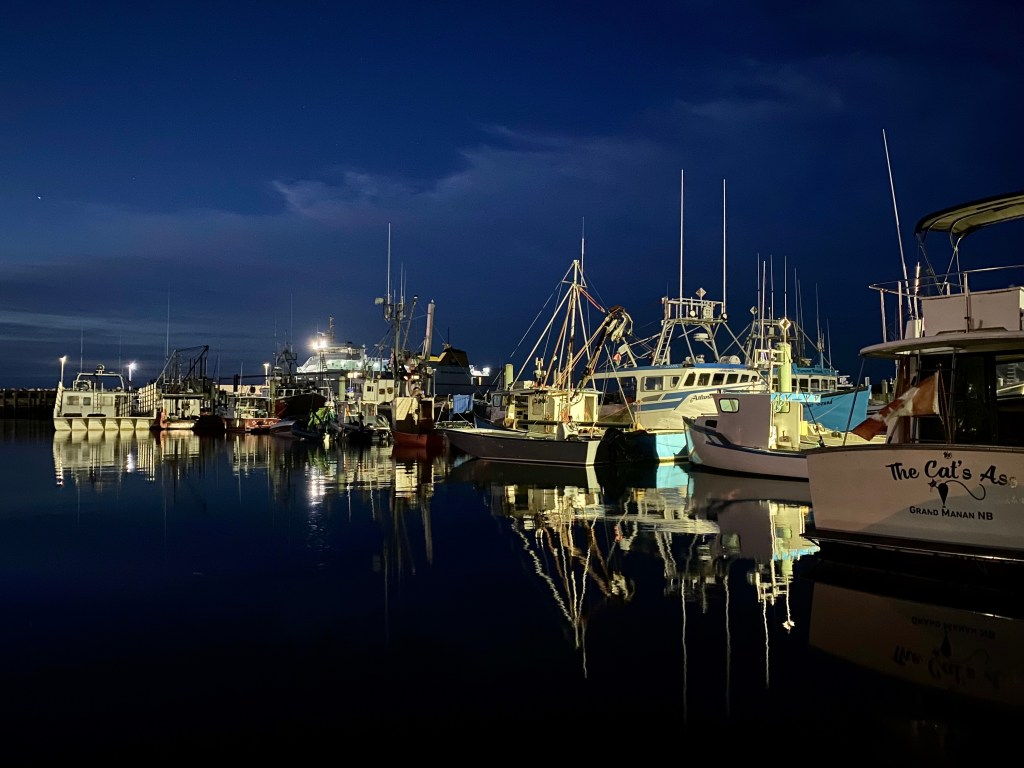 North Head Fisherman's Wharf in the early morning hours