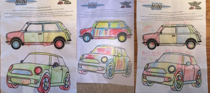 Easter Run Colouring Competition