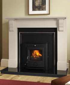Plain Tudor Fireplace