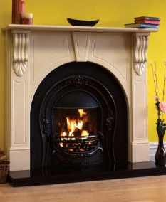 Victorian Arch Fireplace