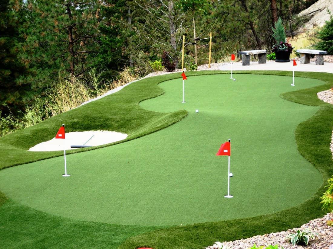 15 Backyard Putting Greens That Will Make You Jealous ... on Putting Green Ideas For Backyard id=36313