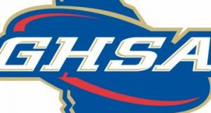 GHSA logo, Walton and Pope volleyball, East Cobb swimmers