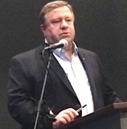 Bob Ott, town hall meeting