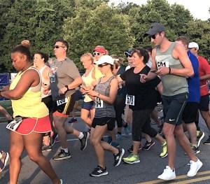 Dog Days Run, East Cobb traffic