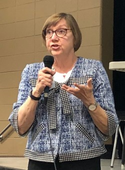 State Sen. Kay Kirkpatrick, East Cobb city map