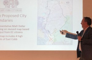 David Birdwell, new East Cobb map