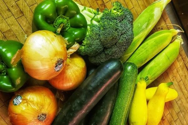 Cobb drive-thru farmer's market