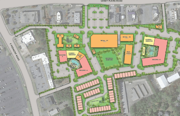 Sprayberry Crossing site plan 7.1.20