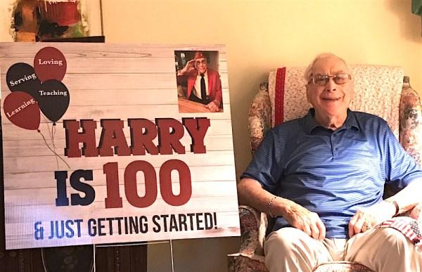East Cobb man turns 100