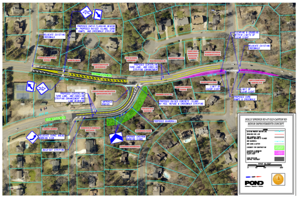 Holly Springs-Old Canton traffic project