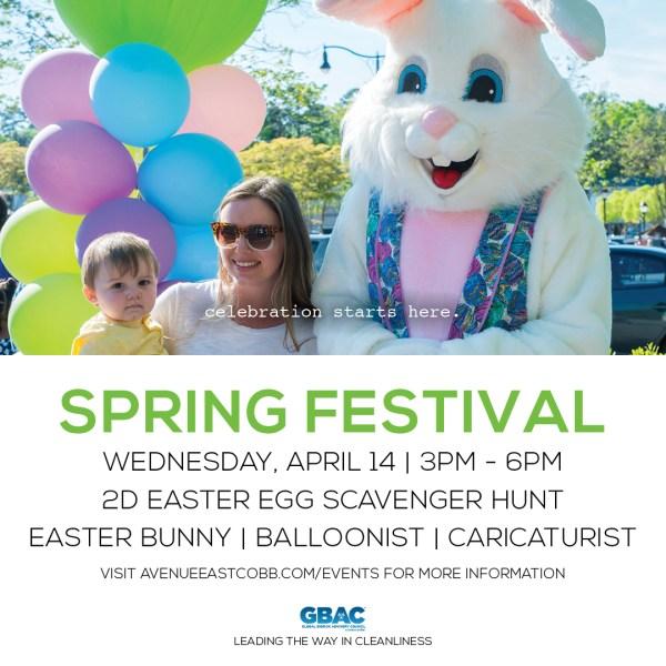 The Avenue East Cobb spring festival