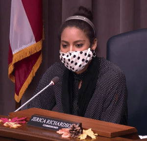 Cobb commissioner Jerica Richardson