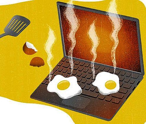 Защо и кога се извършва почистване на лаптопи?