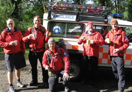 North Dartmoor Rescue - poised for action