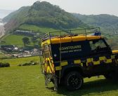 Injured woman unable to move after fall on Sidmouth coast path is carried to safety by Coastguards