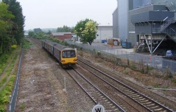 The new Marsh Barton railway station in Exeter is proposed for a site in Clapperbrook Lane.