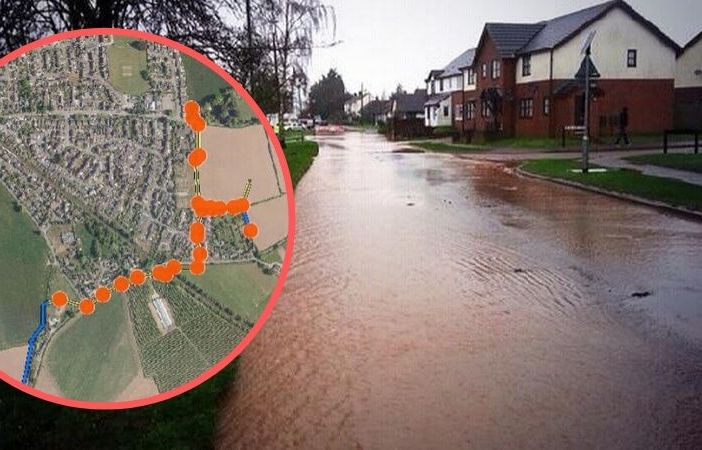 District council bosses have given the go-ahead for the final two phases of flood alleviation work in Feniton.