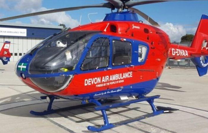 Picture: Devon Air Ambulance Sidbury