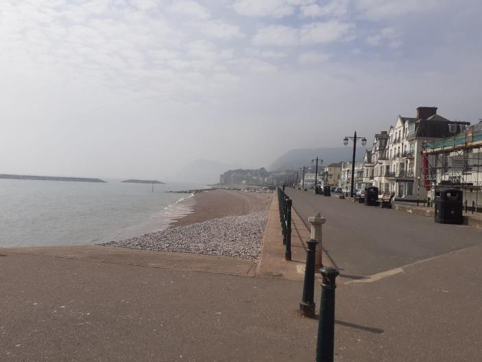 Sidmouth seafront. Picture: Daniel Clark