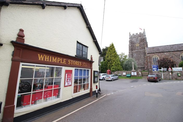Whimple Stores. Picture: Stonesmith