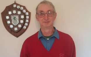 Nigel Garwood won the first round of the Axe Cliff Golf Club Winter League. Picture: Mrs Garwood