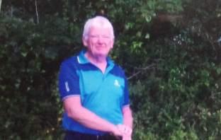Axe Cliff golfer John Hanna. Picture: Brian Thompson