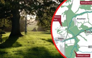 Proposals for the Clyst Valley Regional Park in East Devon. Image, left, courtesy of Simon Bates.