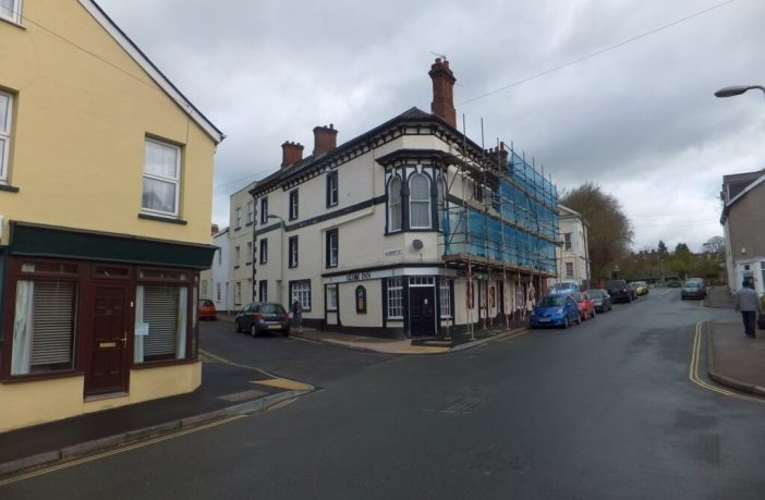 The former Globe Inn pub, in Clifton Road, Exeter. Image: David Smith/Geograph
