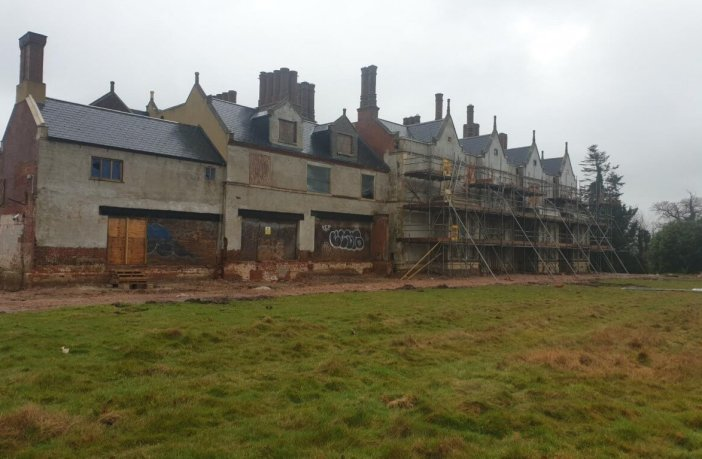 The former Salston Manor Hotel in Ottery St Mary. Image shown to the EDDC Planning Committee