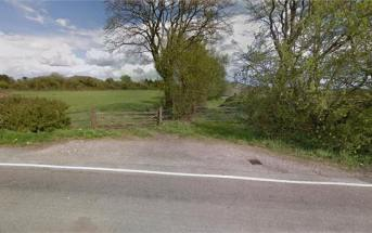 The barn blaze happened at Wiscombe Farm, off Seaton Road, in Southleigh, East Devon. Image: Devon and Cornwall Police