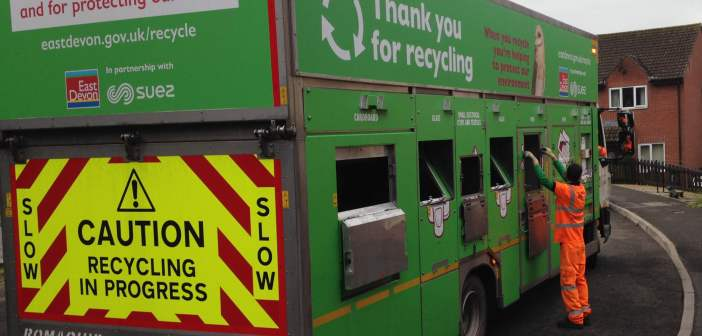 East Devon has highest recycling rate in county – and Exeter the lowest