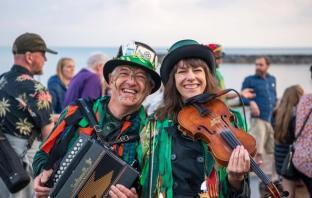 Sidmouth Folk Festival 2021 - Otter Morris. Image: Kyle Baker