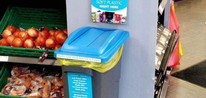 Exmouth Co-op store among 30 in south of England to trial soft plastics recycling bin
