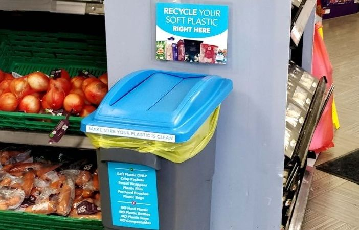 Soft plastics can now be recycled at the Co-operative store in Exmouth.