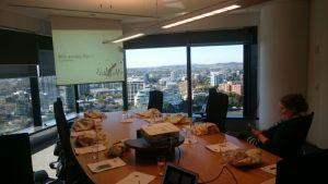 East Edit web writing course training room