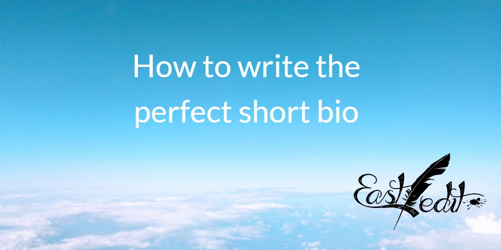Banner image: How to write the perfect short bio