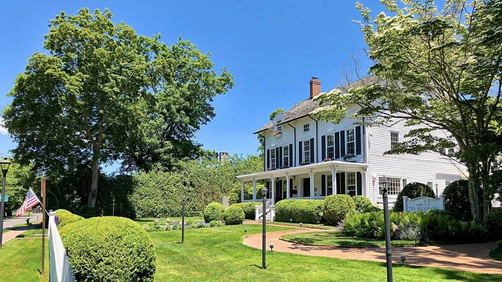 The Hedges Inn is a luxury bed and breakfast, and a landmark East Hampton hotel and wedding venue
